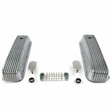 Vintage Finned Valve Covers w/ Breathers (No PCV)Big Block Chevy VPA7AC09 truck