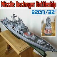 Paper Craft 1:200 Admiral Levchenko Anti-submarine Missile Ship Destroyer B9Q5