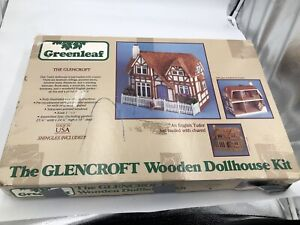 Greenleaf THE GLENCROFT Wooden Dollhouse Kit English TUDOR New Not Assembled