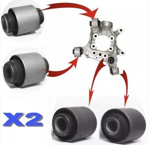 8 REAR SPINDLE KNUCKLE BUSHINGS FOR 2007-2008-2009-2010-2011-2012 NISSAN ALTIMA