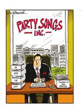 Party Songs - Funny Humour Birthday Card ~ FREE POSTAGE UK