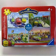 Ravensburger Chuggington 4 individual 35 Piece Puzzles in Tin