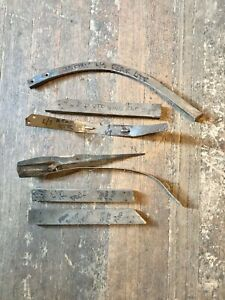 1935 CHEVROLET INTERIOR WOOD PIECES AND SUPPORT BRACKETS 35