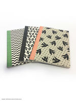A6 Notepad Notebook Pocket Journal 28 Lined Pages Multi Pack Of 3 Pretty Designs