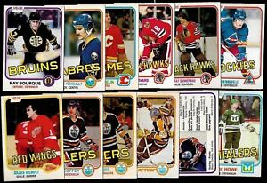 1981-82 OPC 81-82 O PEE CHEE NHL HOCKEY CARD 1-132 SEE LIST