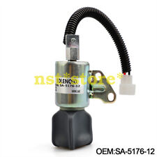 Kubota 1C010-60014; 1C010-60016; 1C010-60017; Stop Solenoid Abstellsolenoid