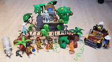 Playmobil 3097 Jungle Playset Uncomplete With Extra's : Sold As Is