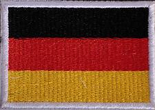 Bügelbild Patch Aufnäher Deutschland Fahne Flagge PA1