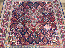 5'x5' New Square fine Josheghan Hand Knotted wool  Oriental area rug