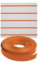 Vinyl Inserts Slatwall Panel Orange Shelving Display 130 ft 3 Rolls Decorative