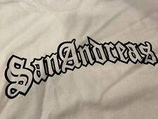 Vtg NEW San Andreas Grand Theft Auto GTA Video Game Promo T-Shirt LARGE Pro Club