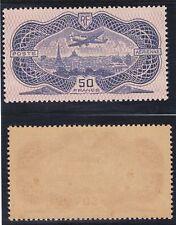 France exceptionnel Poste aerienne avion sur Paris n°15 1936 Neuf **