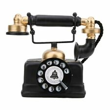 New Vintage Retro Antique Phone Wired Corded Landline Telephone Home Desk Decor