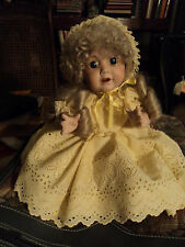 Porcelain Doll reproduction of a German doll from the 1800's