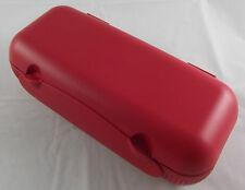 Tupperware A 23 COLOMB Columbus eierbox récipient pour 10 oeufs Rouge Blanc Nouveau neuf dans sa boîte