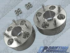 """Hub Centric 2"""" (50mm) Wheel Adapters Spacers 4x100 12x1.25 Studs 59.1mm CB"""