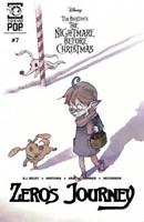 Zeros Journey #7 Burton's NBC Nightmare Before Christmas tokyo Pop Comic 2019 NM