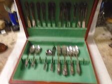 Vintage Silver Plate Community Flatware Set 52 PCS