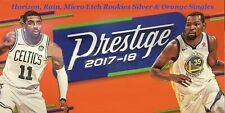2017-18 Prestige Horizon, Rain, Micro Etch Rookies Silver & Orange Singles