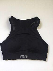 Victorias Secret Large PINK Ultimate Lightly Padded Sports Bra L