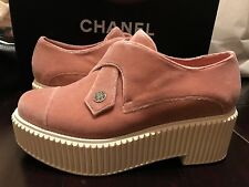 Chanel Mocassins Loafers pink