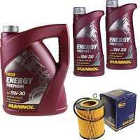 Ölwechsel Set 7L MANNOL Energy Premium 5W-30 Motoröl + SCT Filter KIT 10199693