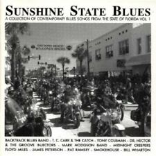 SUNSHINE STATE BLUES-FLORIDA - DR. HECTOR, SMOKEHOUSE, TONY COLEMAN -1  CD NEW+