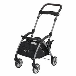 Graco SnugRider Elite Car Seat Carrier | Lightweight Frame Stroller | Travel Str