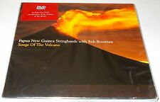 PAPUA NEW GUINEA STRINGBANDS-SONGS OF THE VOLCANO-CD/DVD 2005-BOB BROZMAN-NEW