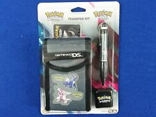 ds Pokemon Diamond+Pearl Version Transpak Kit + Dialga Stylus+Carry Case+Rag Bag