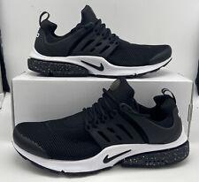 Nike Air Presto ID Mens Size 11 Black/White 846438-998 New Running Sneakers