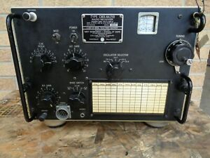COLLINS MILITARY RECEIVER TCS-12 COL-46159 U.S.NAVY WWII