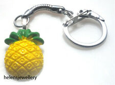 GORGEOUS HANDMADE PINEAPPLE KEYRING + FREE GIFT BAG