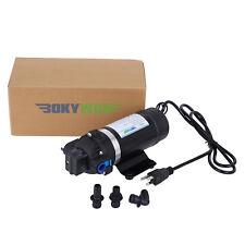 110-120V Self-priming Diaphragm Pump 160PSI High Pressure Water Pump Caravan/RV