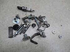 09 Kawasaki KLX250SF KLX250W  ASSORTED HARDWARE NUTS BOLTS MISC