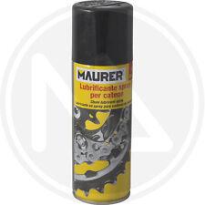 Lubrificante spray per catene MAURER linea bici mountain bike additivato PTFE