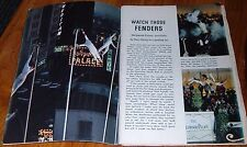 1965 TV ARTICLE~HOLLYWOOD PALACE~THE ZACCHINIS ARIAL SHOW~THE ARMORS TRAPEZE ACT