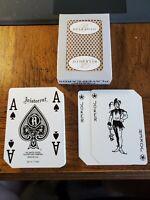 2 Decks Bellagio Casino Las Vegas Playing Cards. Jokers in Decks.