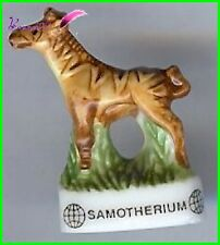"Feve Les Dinosaure Atlas "" Le Samotherium "" Girafe #D29"