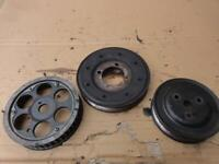 2005 VAUXHALL COMBO VAN 1.7 CDTI -  ASSORTMENT OF PULLEYS CRANK CAM