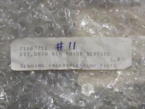 INGERSOLL RAND 71407712 KIT BU7A AIR MOTOR SERVICE KIT
