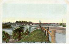 Girard Avenue Bridge Philadelphia Pennsylvania PA Vintage Postcard