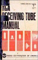 RCA RECEIVING TUBE MANUAL RC-25 1967 PDF