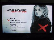 Avril Lavigne Under My Skin (CD & DVD 2005) One side CD other side DVD no case
