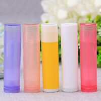 5Pcs Lip Balm Tubes Empty Lipstick Containers DIY Cosmetic Tubes Tool 7 Colors