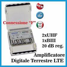 Amplificatore DT TV Serie X LTE Con Connessione F