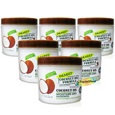 6x Palmers Coconut Oil Formula With Olive Moisture Gro Shining Hairdress 150g
