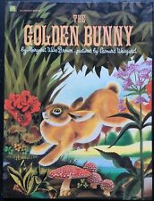 Golden Bunny Big Storybook by Margaret Wise Brown c1981 VGC Hardcover