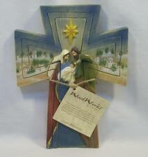 Roman Wood Works Inspirations Decorative Cross Holy Family Baby Jesus Puzzle