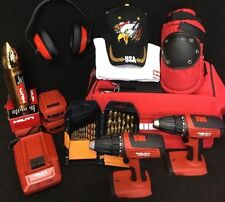 HILTI SFC 18-A ,CONTRACTOR PACKET, NEW, 3 BAT, FREE THERMO, LOT EXTRA, FAST SHIP